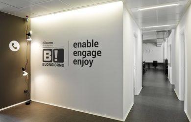 Thiết kế văn phòng Buongiorno tại Milan