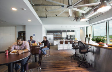 Thiết kế văn phòng xây dựng DPR tại Austin