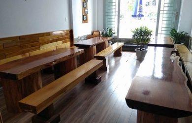 lựa chọn bàn ghế gỗ